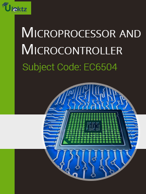 Microprocessor and Microcontroller -Important questions(EC6504)